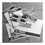 ontwerp, drukwerk, stickers, balpennen